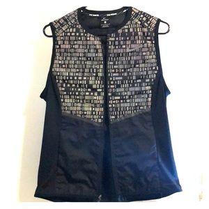 Women's Large Nike Aeroloft reflective black Vest